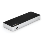 StarTech.com Dual Monitor USB C Docking Station with 60W Power Delivery for Windows Laptops - USB C to HDMI or DVI Dock - USB 3.1 Gen 1 Type C Dock w/ Charging - Thunderbolt 3 Compatible