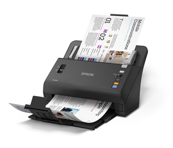 Epson WorkForce DS-860 Sheet-fed scanner 600 x 600DPI A4 Black