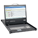 Tripp Lite 1U Rackmount Console with 19-in. LCD, DVI or VGA