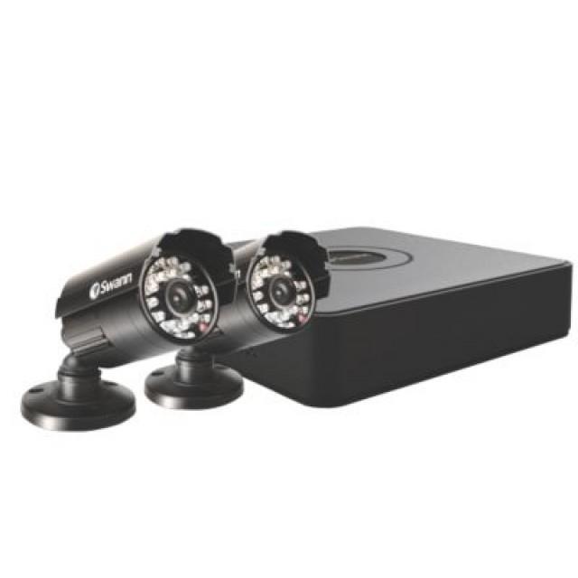 Swann DVR4-1525 4 Channel 960H Digital Video Recorder & 2 x PRO-615 Cameras UK