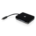 iogear GUH3C37SD card reader Black,Grey USB 3.2 Gen 1 (3.1 Gen 1) Type-C