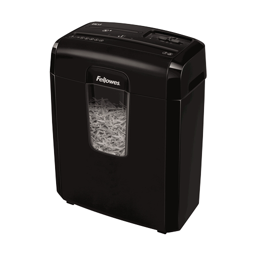 Fellowes Powershred 8Cd paper shredder Cross shredding 22 cm Black