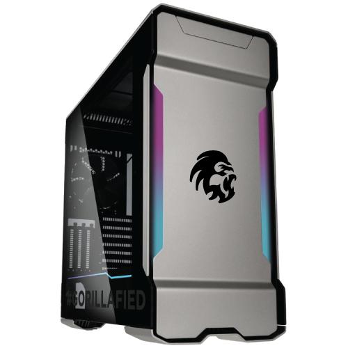 Gorilla Gaming BOSS 3.3 - i9 9900K 3.6GHz, 16GB RGB RAM, 500GB NVMe, 2TB, 11GB RTX 2080 Ti