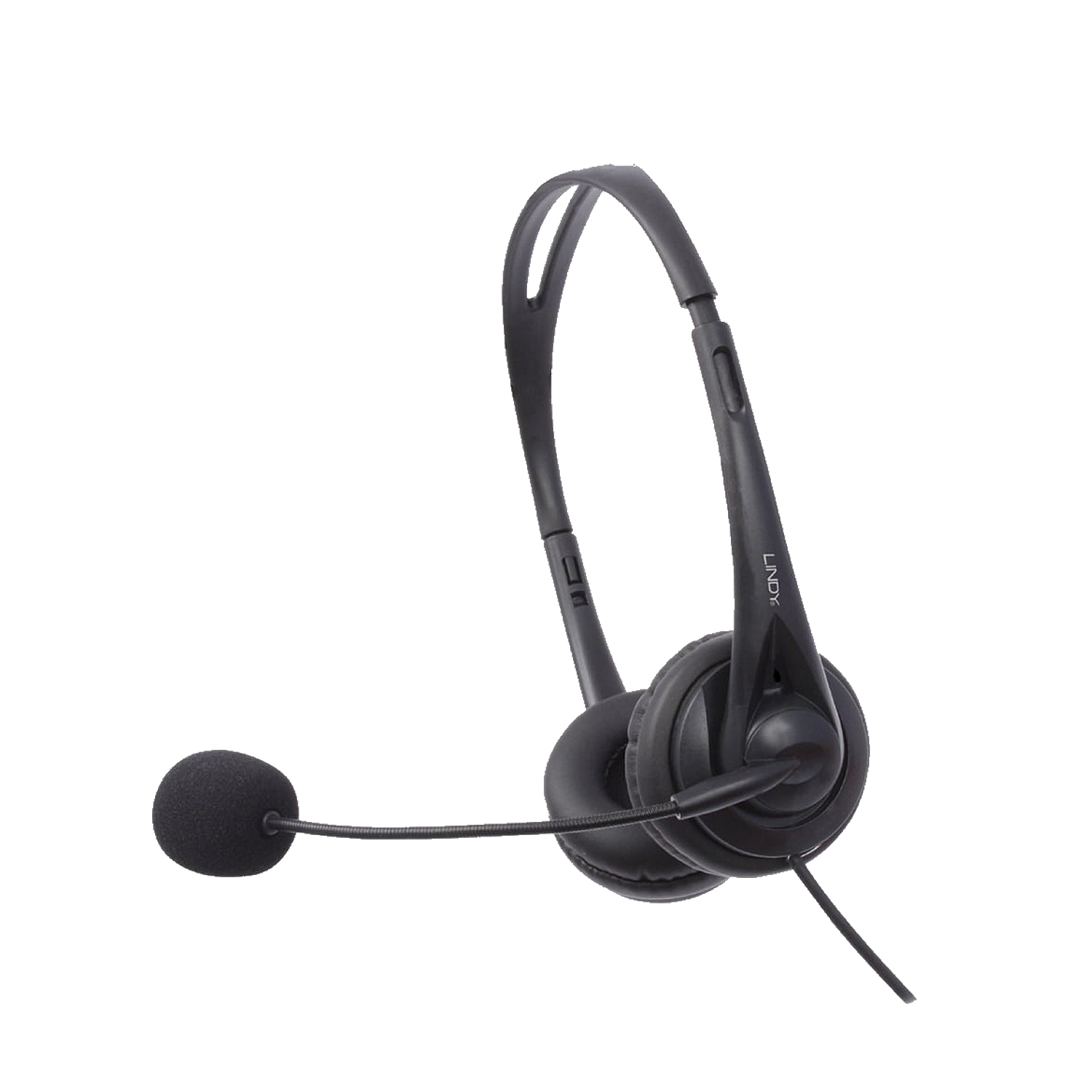 LINDY 42870 HEADSET HEAD-BAND BINAURAL BLACK