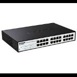 D-Link EasySmart L2 Gigabit Ethernet (10/100/1000) Power over Ethernet (PoE) Black, Grey