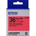 Epson C53S657004 (LK-7RBP) DirectLabel-etikettes, 36mm x 9m