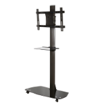 "Hagor HP-Stand 55 Portable flat panel floor stand Black 139.7 cm (55"")"