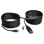 Tripp Lite U330-10M USB 3.0 SuperSpeed Active Extension Repeater Cable (A M/F), 10M (32.8 ft.)