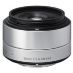 Sigma 30mm F2.8 DN MILC Standard lens Silver
