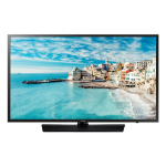"""Samsung HG43EJ470MK 109.2 cm (43"""") Full HD Black A+ 20 W"""