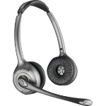 Plantronics WH350 Binaural Head-band Silver headset