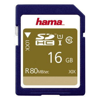 Hama SDHC 16GB memory card Class 10 UHS-I