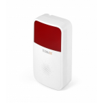 Technaxx TX-88 alarm ringer 85 dB Red,White