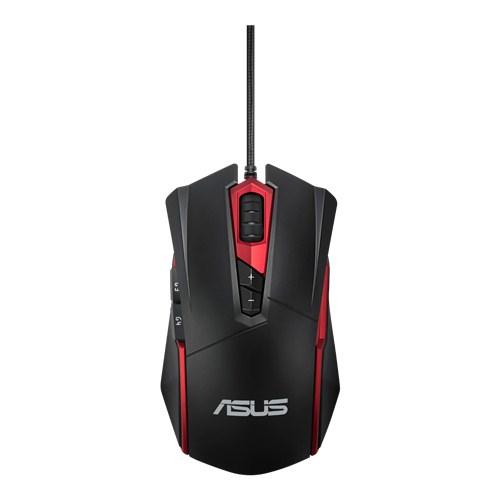 ASUS Espada GT200 USB Optical 4000DPI Ambidextrous Black mice