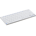 Rapoo E6100 Bluetooth QWERTZ German White mobile device keyboard