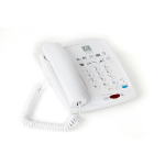 ATL Delta 820 Analog telephone White