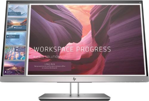 "HP EliteDisplay E223d LED display 54.6 cm (21.5"") Full HD Flat Black,Silver"