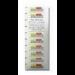 Quantum 3-04307-05 White barcode label