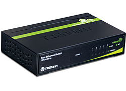Trendnet 5-Port 10/100Mbps GREENnet Switch