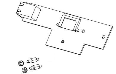 Datamax O'Neil OPT78-2887-01 pieza de repuesto de equipo de impresión Interfaz de LAN Impresora de etiquetas
