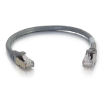 C2G Cat6a SSTP 0.3m 0.3m Cat6a S/FTP (S-STP) Grey networking cable
