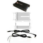 Lind Electronics PA1555-2123 power adapter/inverter Black
