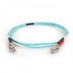 """C2G 7m Lc-Lc 50/125 Om4 10g Dpx Pvc fiber optic cable 275.6"""" (7 m) OFNP Blue"""