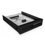 "ICY BOX Gehäuse HDD/SSD enclosure 2.5"" Black"