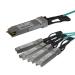 StarTech.com AOC Breakout Cable for Cisco QSFP-4X10G-AOC7M - 7m/23ft 40G 1x QSFP+ to 4x SFP+ AOC Cable - 40GbE QSFP+ Active Optical Fiber - 40Gbps QSFP Plus/Transceiver Module Breakout Cable - C9300 C3850 (QSFP4X10GAO7)