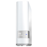 Western Digital WDBCTL0080HWT-NESN 8TB Ethernet LAN White personal cloud storage device