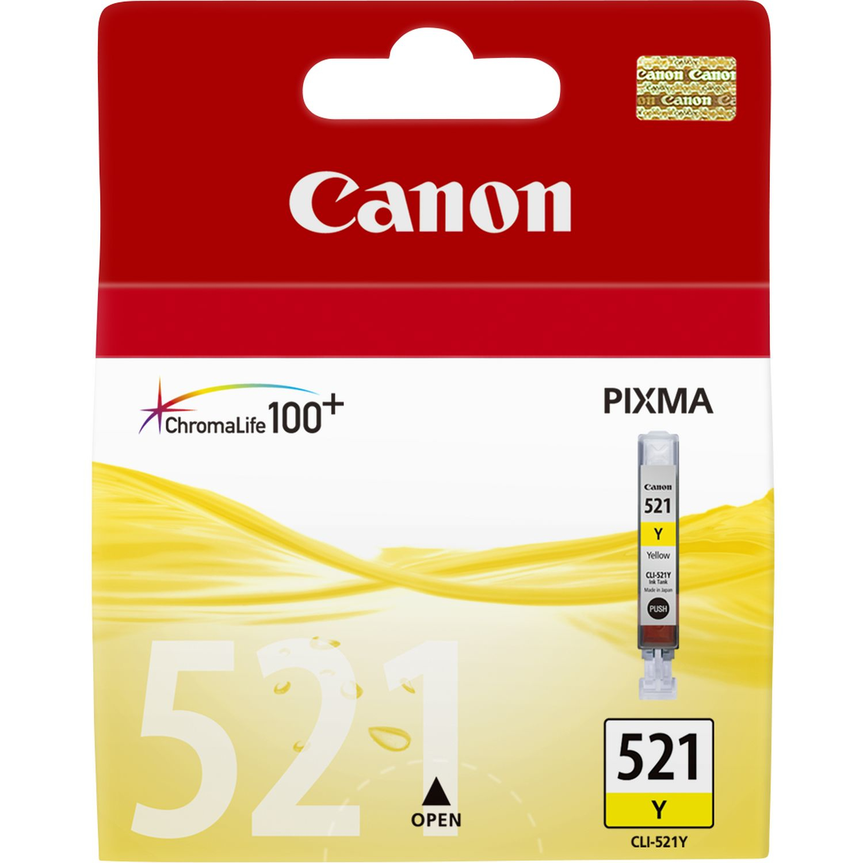 Canon CLI-521 Y Original Amarillo 1 pieza(s)