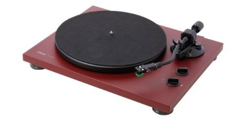 TEAC TN-400BT-MR Belt-drive audio turntable Red audio turntable
