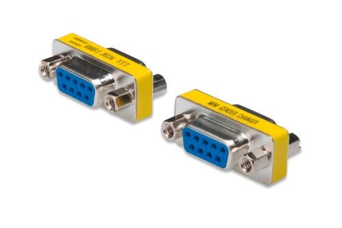 Digitus AK-610506-000-I cable interface/gender adapter VGA Yellow