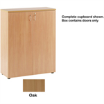 JEMINI FF JEMINI 1000MM DOOR PACK OAK