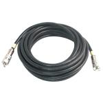 C2G 3m RapidRun CL2 3m RapidRun RapidRun Black coaxial cable