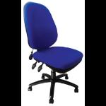 Eliza Tinsley Carlisle Pump Up Lumbar Operator Chair Blue DD