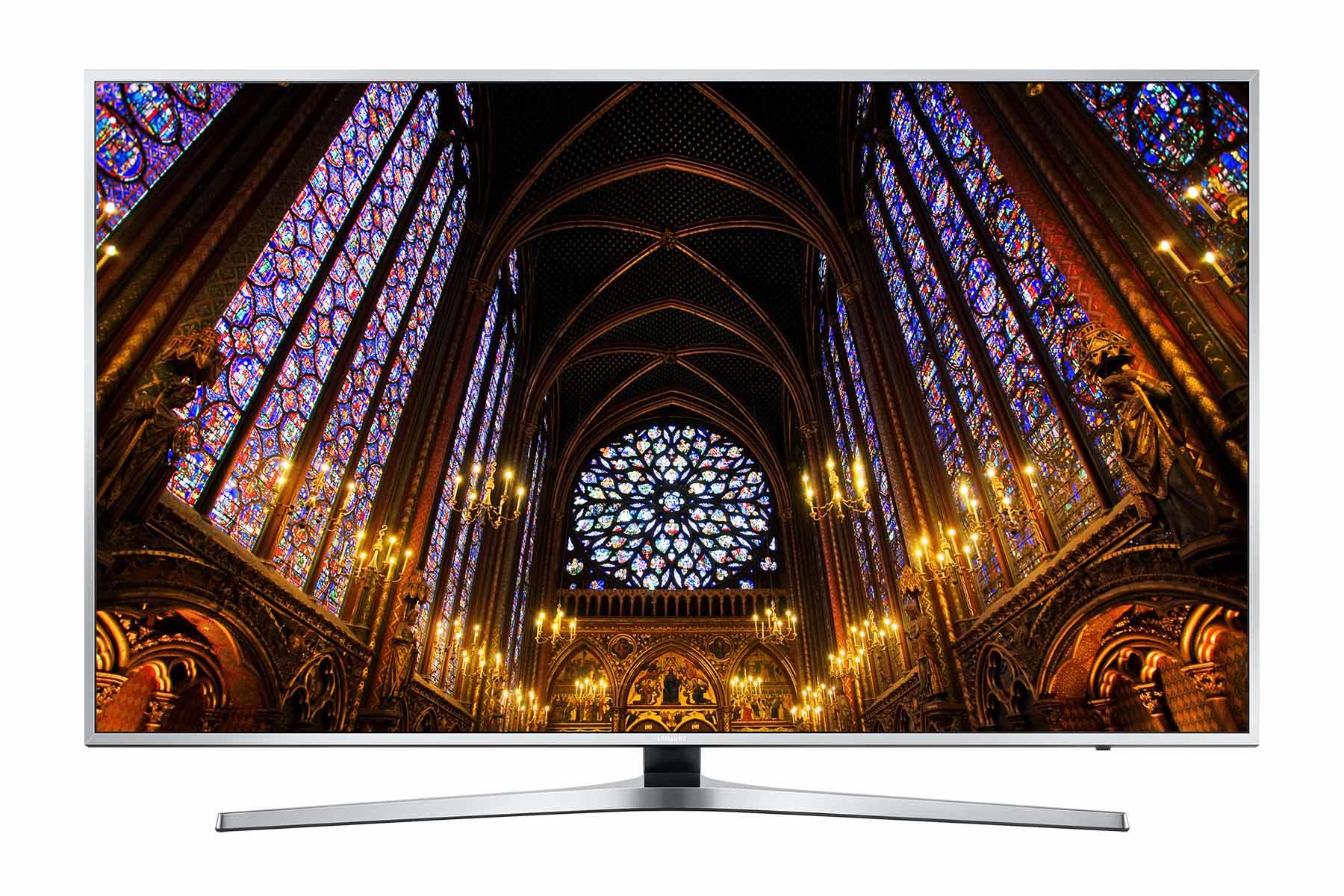 """Samsung HG55EE890UB 55"""" 4K Ultra HD Wi-Fi Silver LED TV"""