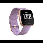 Fitbit Versa - Special Edition reloj inteligente LCD Oro rosa GPS (satélite)