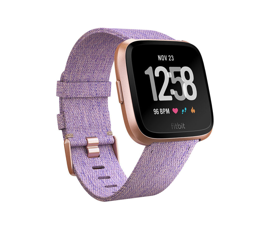 Fitbit Versa - Special Edition LCD Oro rosa GPS (satélite)