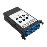 Tripp Lite 8.3/125 Singlemode Fiber 40/100 Gb to 10 Gb Breakout Cassette, (x3) 8-Fiber MTP/MPO (APC) to (x12) LC (UPC) Duplex, N482 Chassis