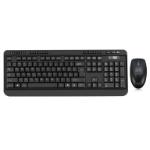 Adesso WKB-1320CB-UK keyboard RF Wireless + USB QWERTY UK English Black
