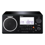 Sangean WR-2 Personal Digital Black radio