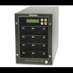 Addonics DGC3 media duplicator Optical disc duplicator 3 copies Black,Grey