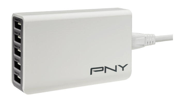 PNY P-AC-5UF-WEU01-RB mobile device charger