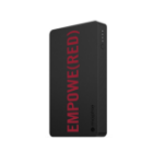 Mophie Powerstation 6000mAh Black, Red power bank