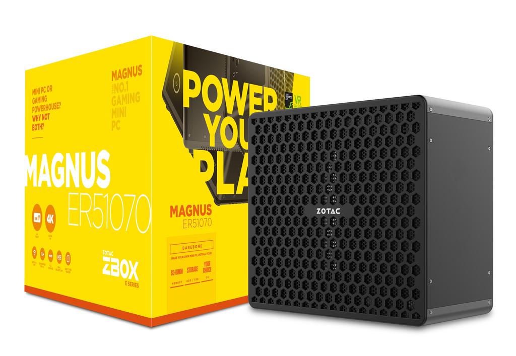 Zotac ZBOX MAGNUS ER51070 3.2 GHz 5 1400 Desktop Black