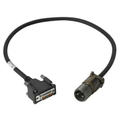 Zebra 25-159553-01 cable de transmisión Negro 0,6 m