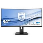 Philips B Line 345B1C/00 PC Flachbildschirm 86,4 cm (34 Zoll) 3440 x 1440 Pixel WQHD LCD Schwarz