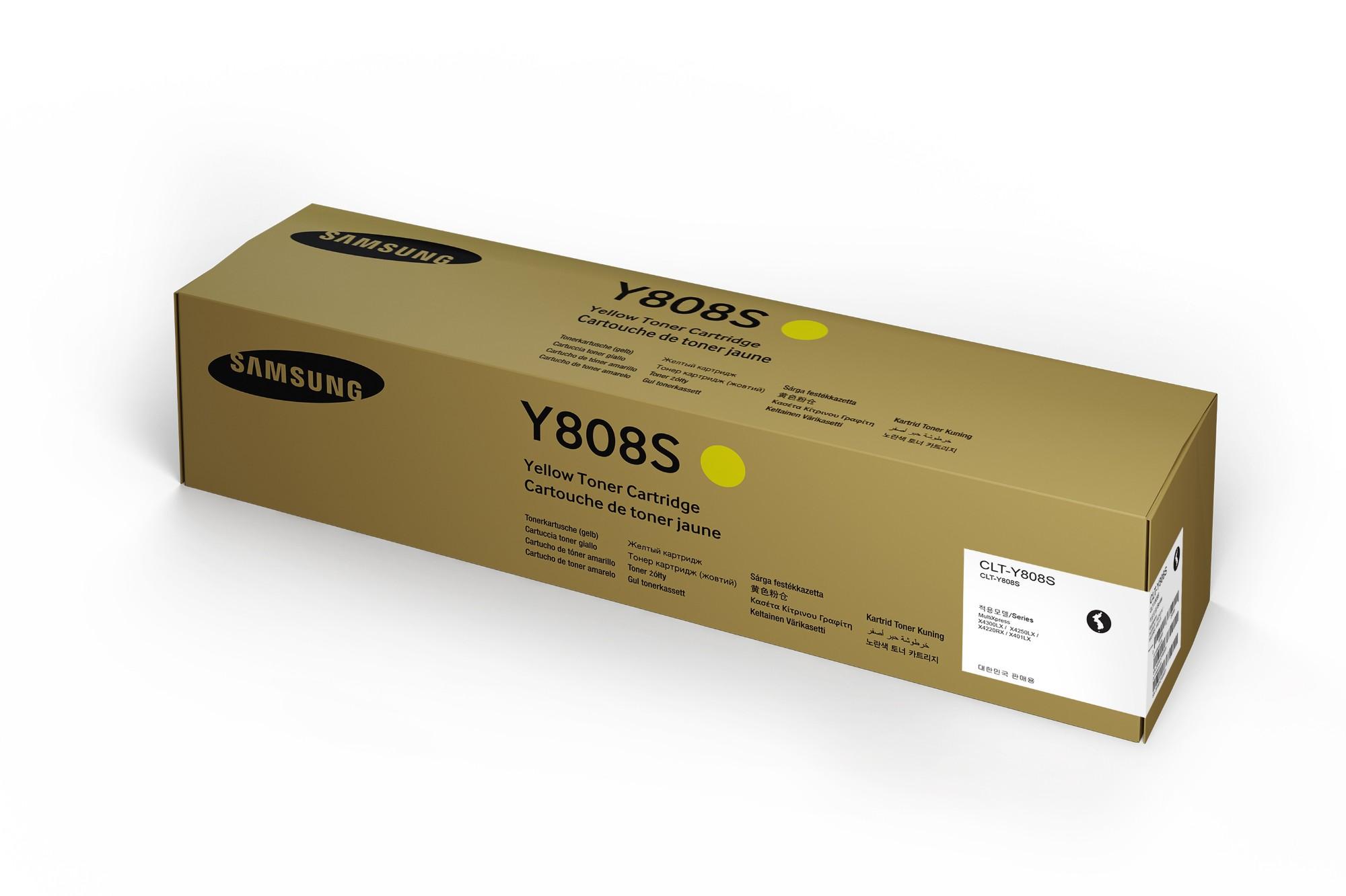 Samsung CLT-Y808S Origineel Geel 1 stuk(s)