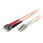 C2G 30m LC/ST 30m LC ST Orange fiber optic cable